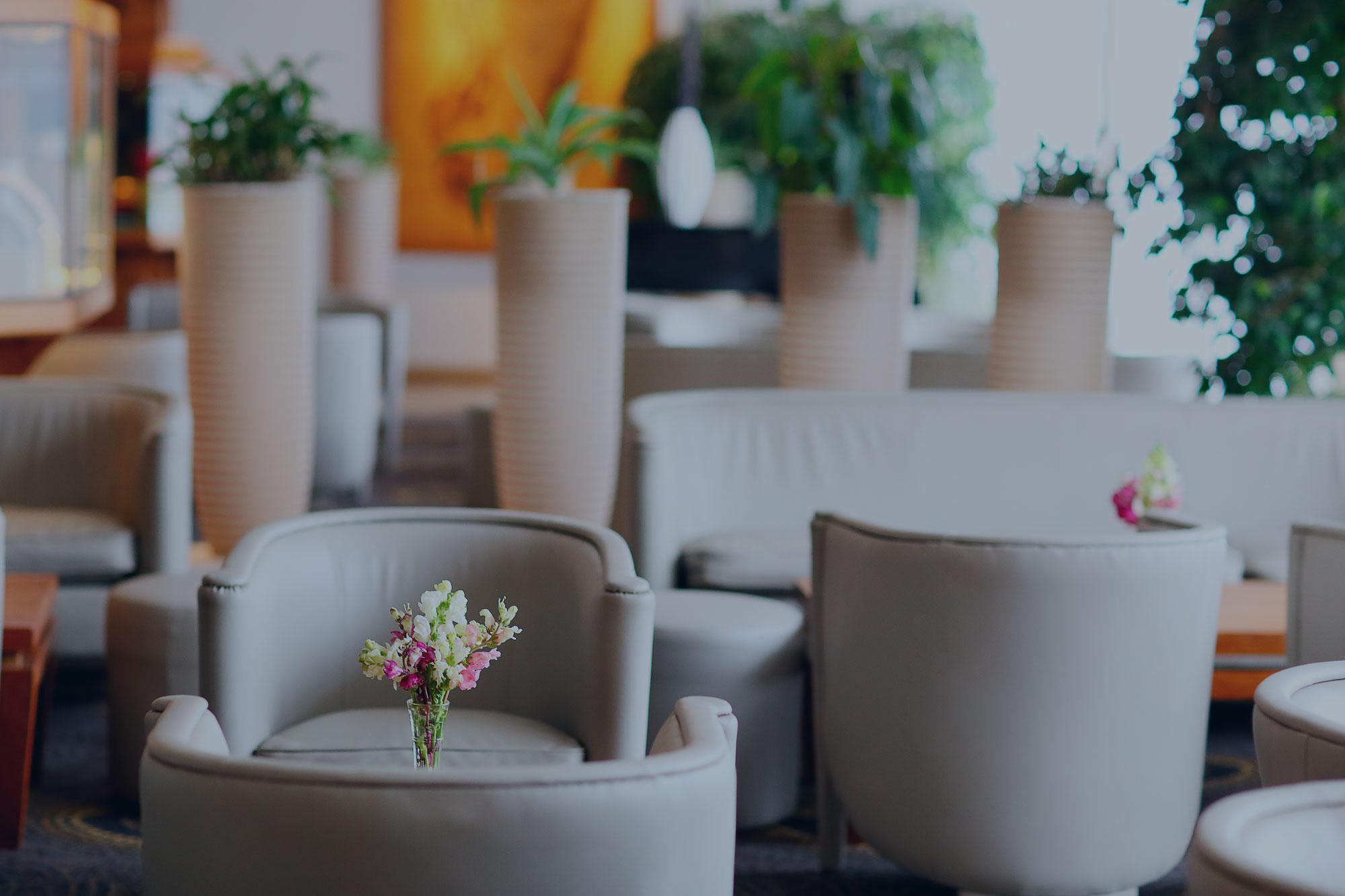 Lobby - accueil Hotel Carlton Madagascar