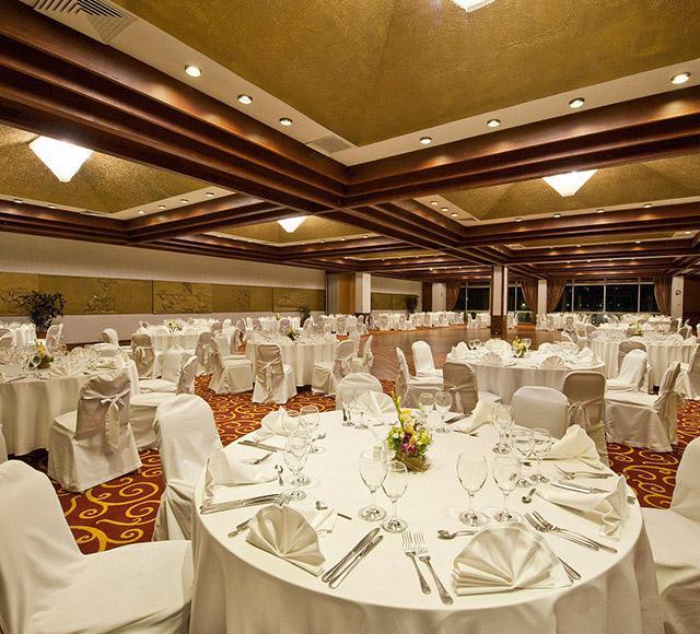 Salle de réception pour mariage ou grande réception