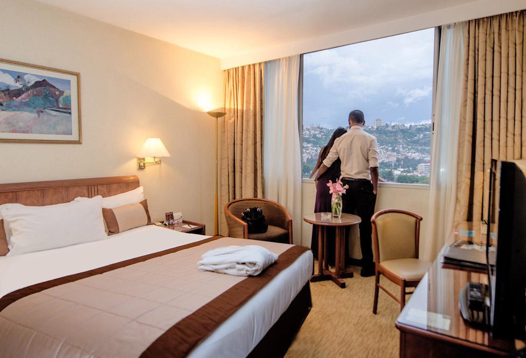 Chambre Regular de l'Hotel Carlton Madagascar avec une vue sur Antananarivo Madagascar