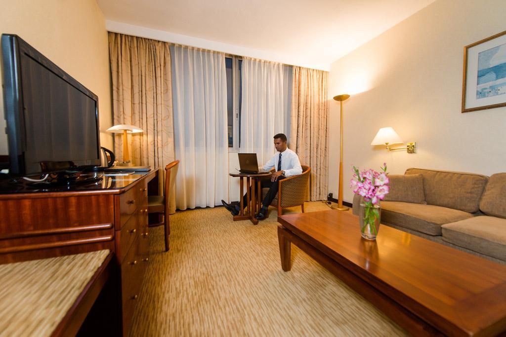 Confornd d'une chambre suite à l'hotel Carlton Madagascar