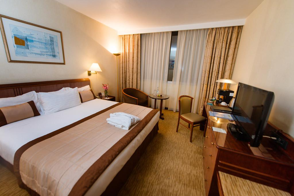 Agencement d'une chambre suite à l'hotel Carlton Madagasca