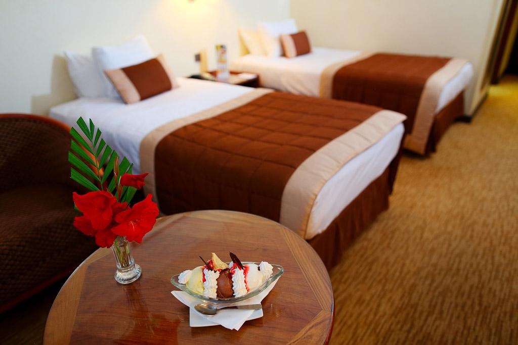 Suite avec double lit au Carlton Madagascar